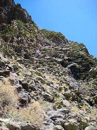 Cerro Parido - 1st pitch