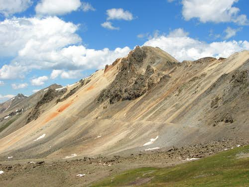 Darley Mountain from Engineer Pass