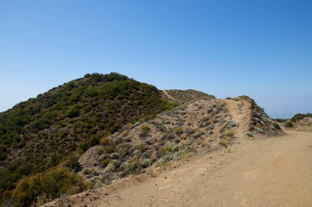 Calabasas Peak (2,163 feet)
