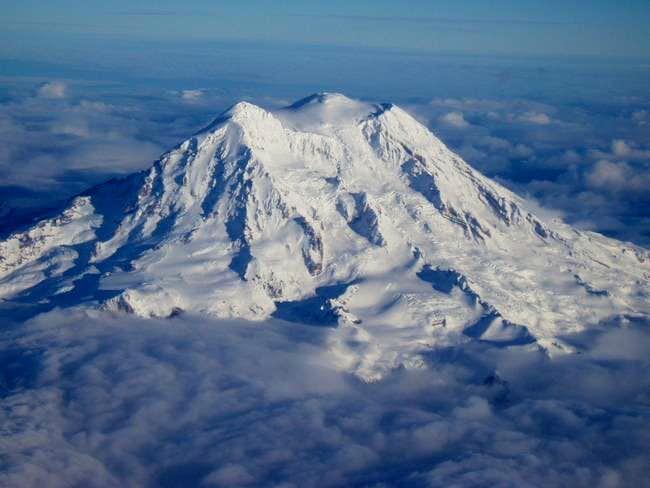 Mt. Rainier in her glorious...