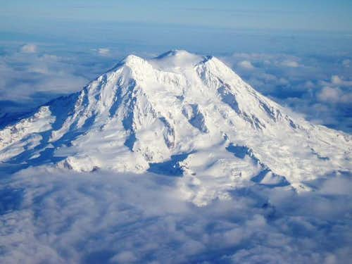 Mt. Rainier in her glorious...