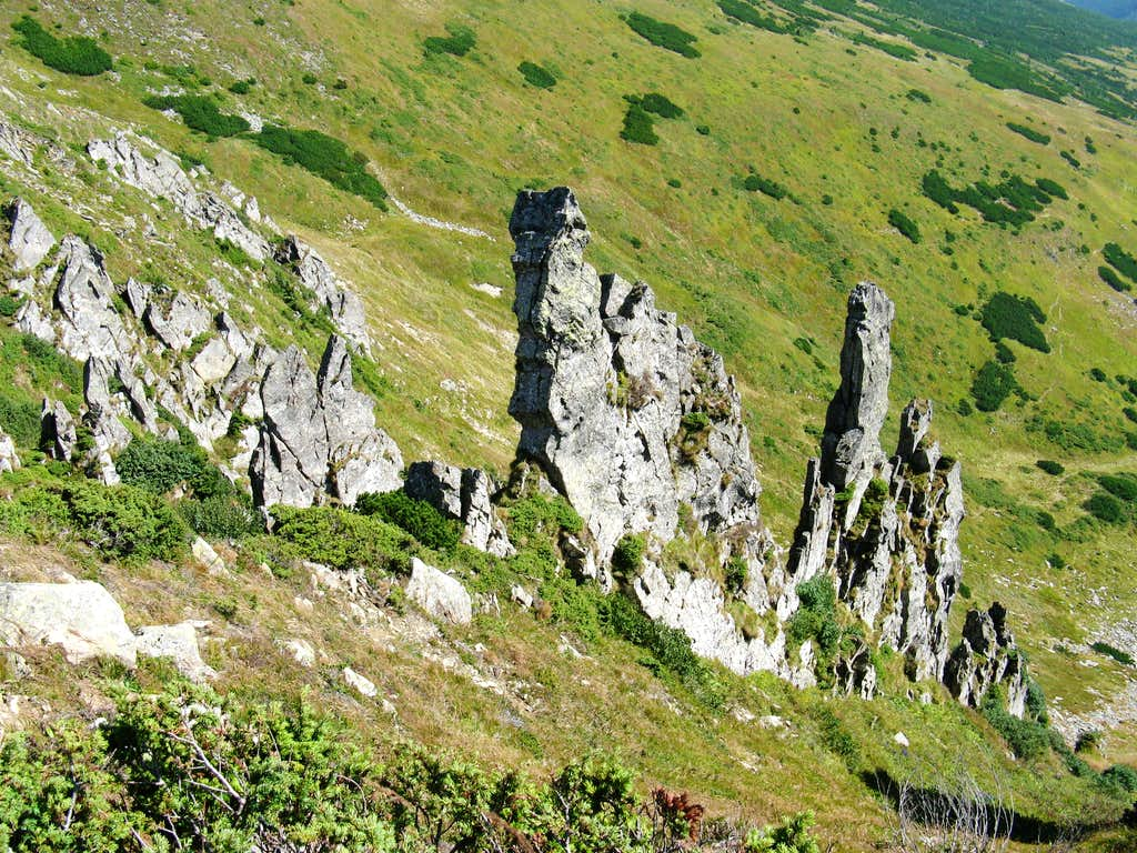 Crags of Shpytsy