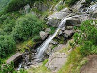 Prut  waterfall in Chornohora