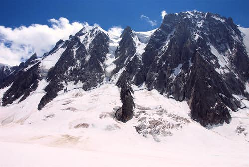 From Glacier d'Argentiere