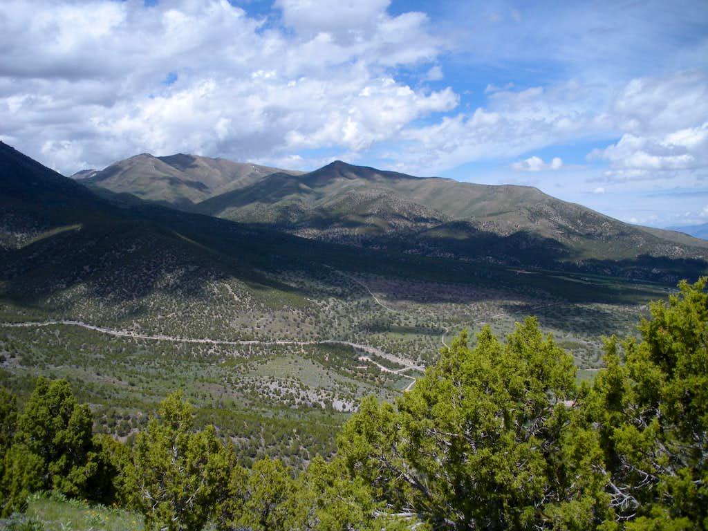 Slate Rock Peak from South