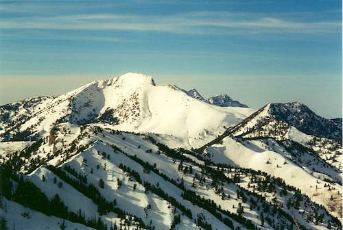 Deseret Peak from Vickory