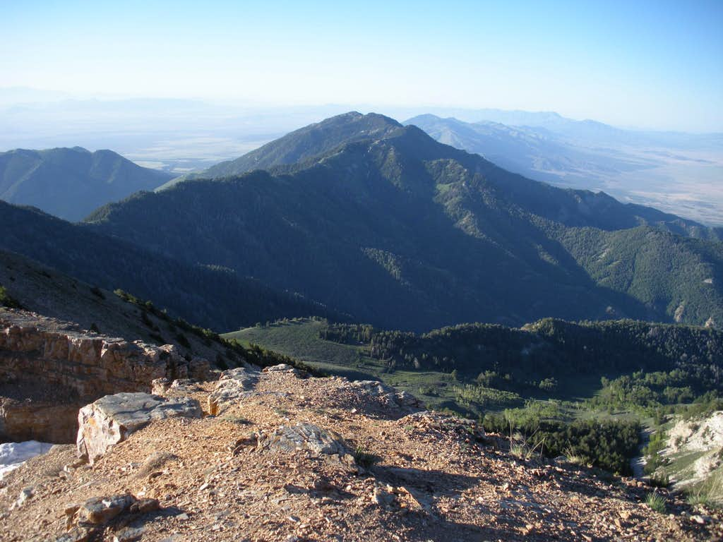 Vickory Peak from Deseret