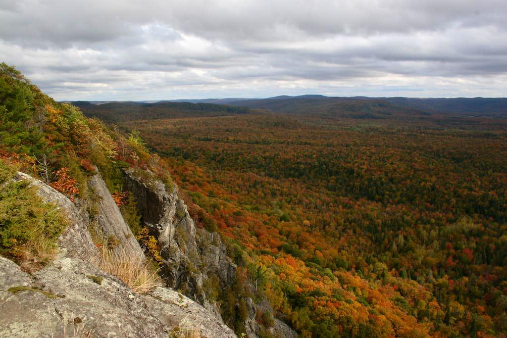 Autumn on the Cliffs