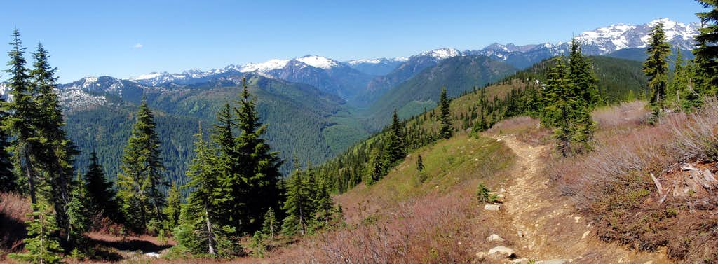 Bench Mark Trail Panorama