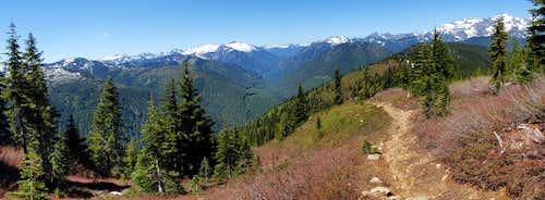 Bench Mark Trail Panorama
