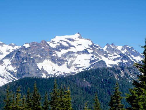 Kyes Peak and Monte Cristo Peak