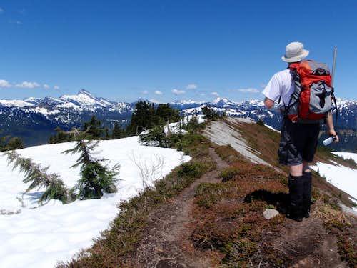 Bench Mark Mountain Summit