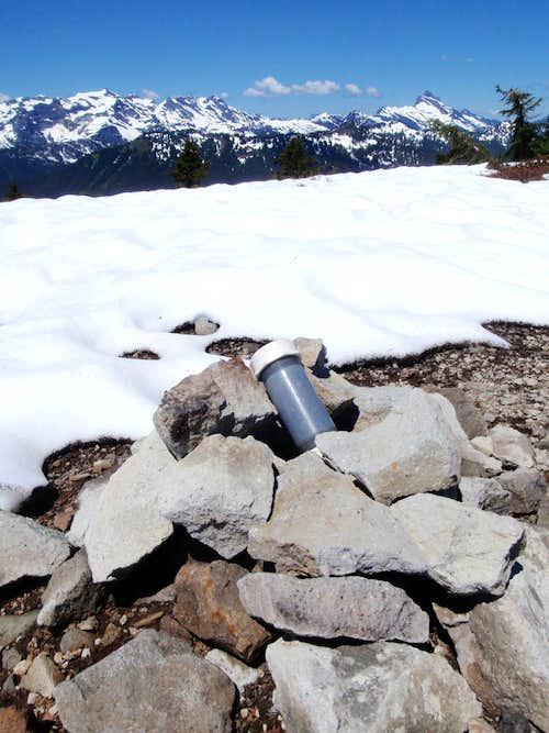Bench Mark Mountain Summit Register