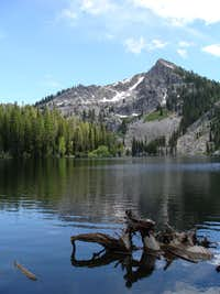 Louie Lake And Jughandle MT.