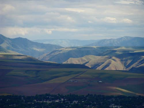 Snake River Canyon Just Outside Hells Canyon