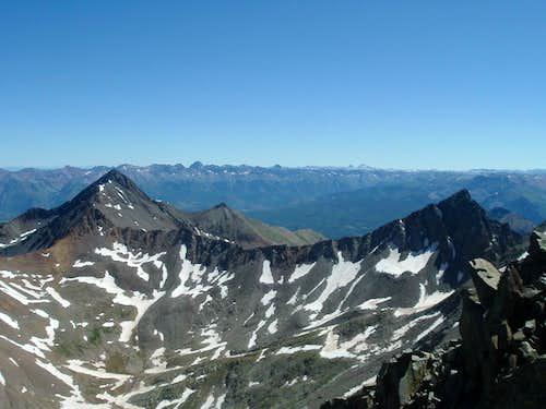 Wilson Peak and Gladstone Peak