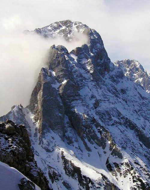 E ridge of Kukova spica