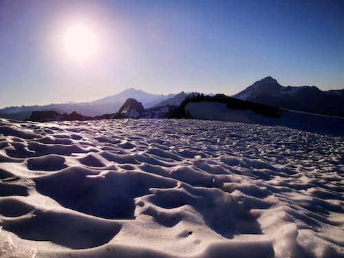 Good Morning Mount Dickerman 7/7/2010