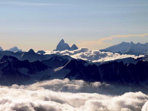 Matterhorn, Dent d'Herens, Monte Rosa