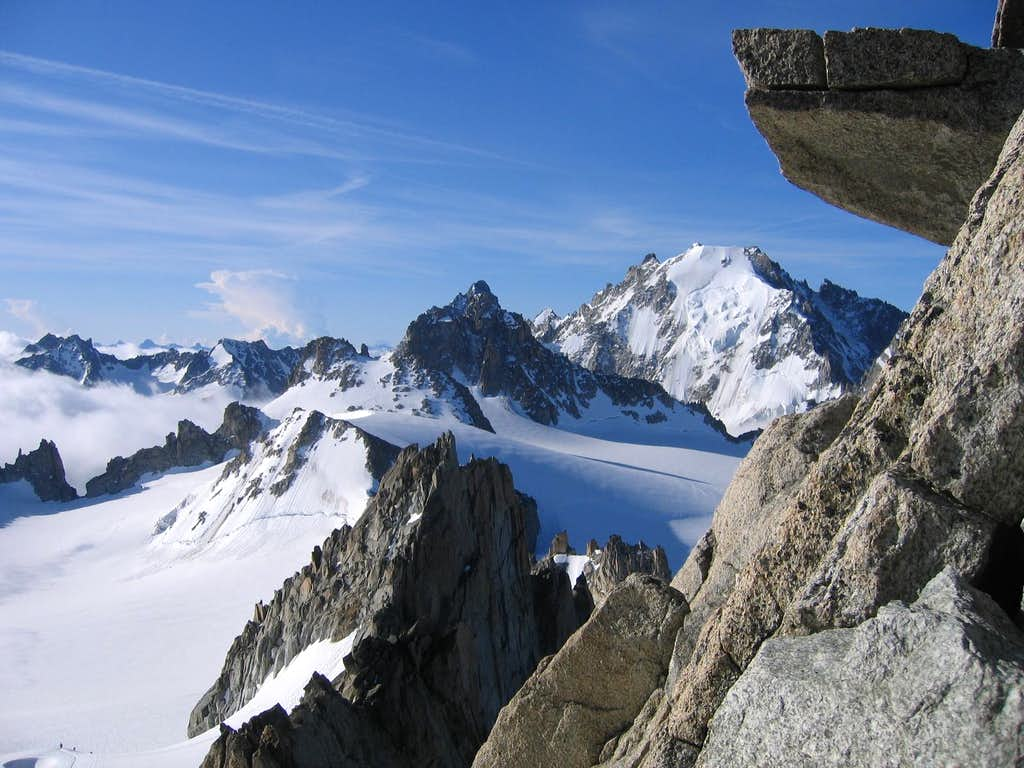 South Ridge of Aiguille du Tour