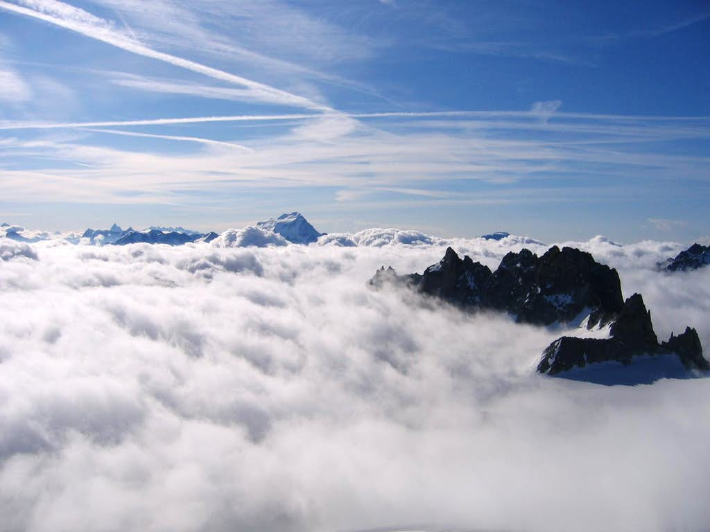 View from Aiguille du Tour summit