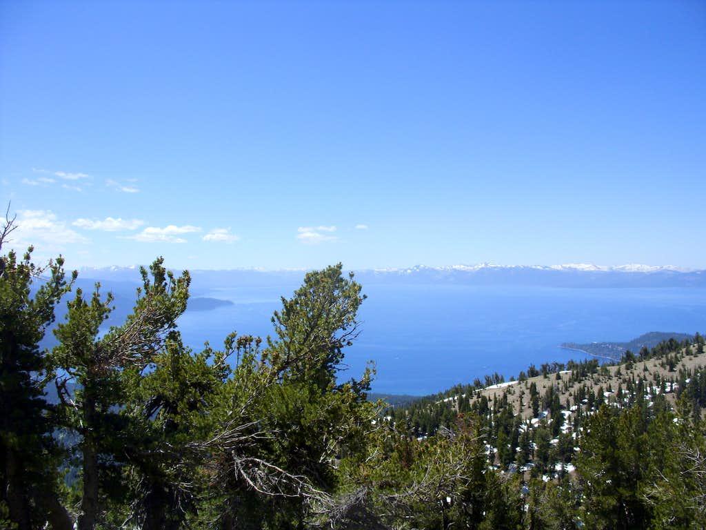 Lake Tahoe from Peak 9773