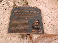 A Memorial on Mt Princeton....