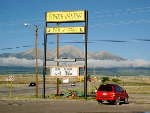 Mount Princeton as seen from...