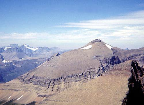 Mount Siyeh from the south.