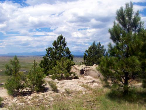 Rattlesnake Butte Summit Area