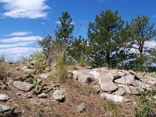 Sunny Outcrop, Rattlesnake Butte