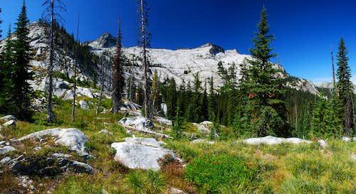 Blodgett and Shattuck Mountains