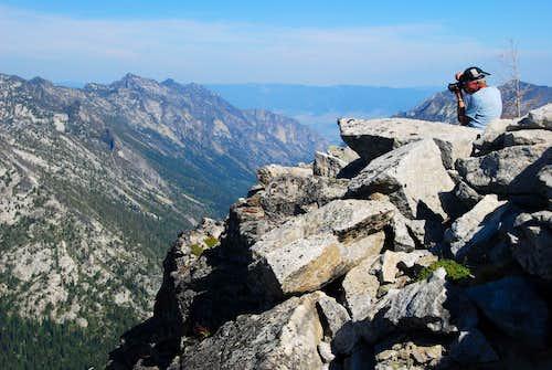 Blodgett Mountain's Summit