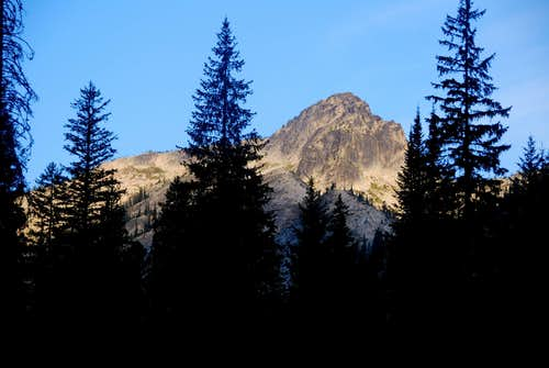 Blodgett Mountain in the Morning