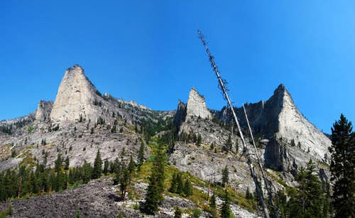Blodgett Canyon's Most Famous Climbs