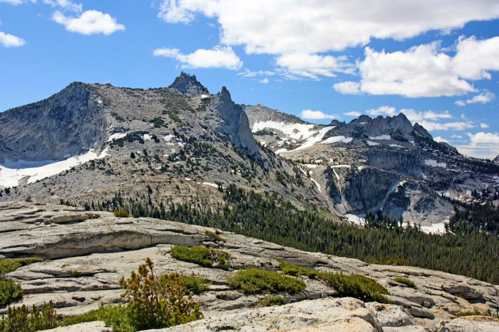 Cathedral Peak and Echo Peaks