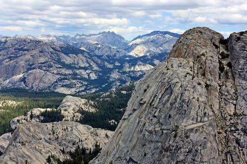 Mariuolumne Dome and Yosemite High Country