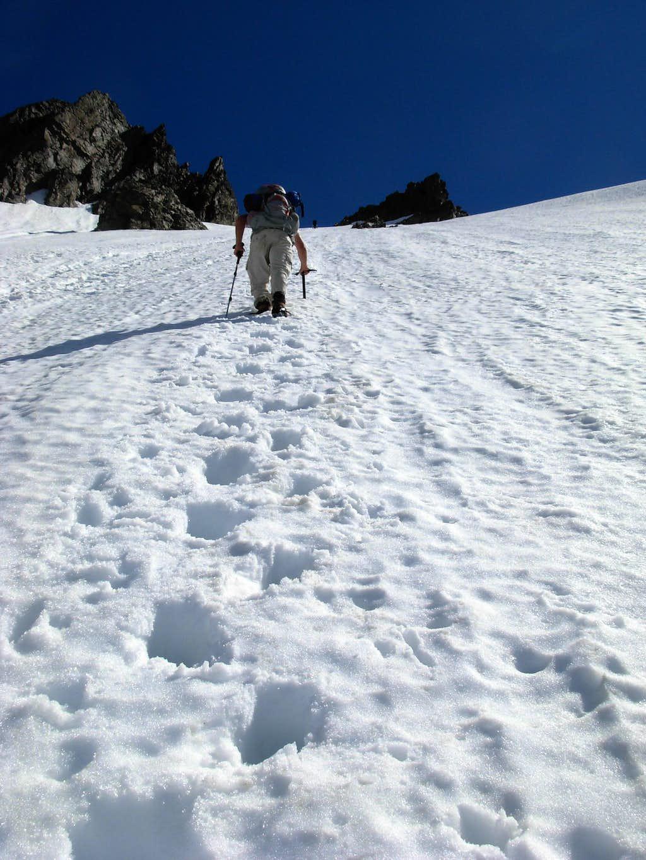 Gimpilator Ascends Buckner's Southwest Slope