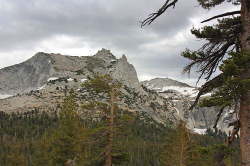 Cathedral Peak and Echo Ridge