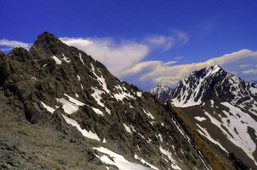 Sacajawea and Mt. Idaho