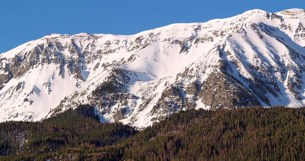 Chief Joseph Mountain, Winter 2005