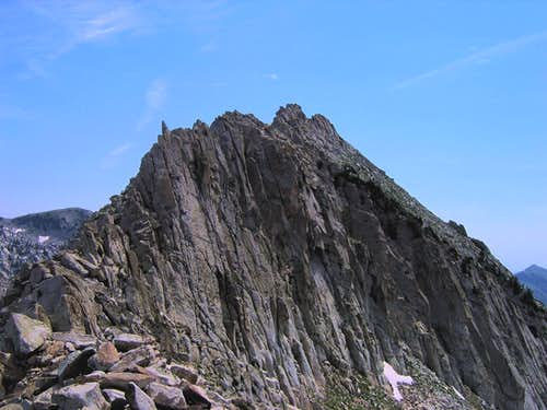 The west ridge of Bighorn