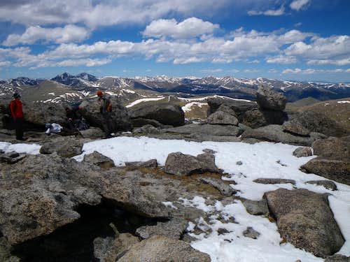Mt. Spalding Summit