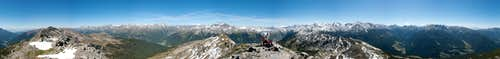 360° Summit Panorama Karnspitz