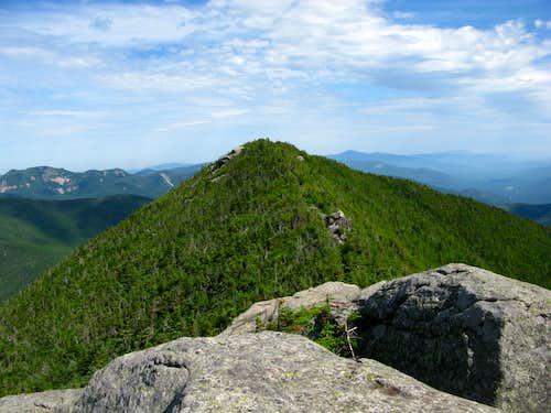 summit ridge of Dix