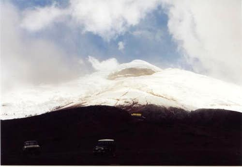 Cotopaxi as seen from the...