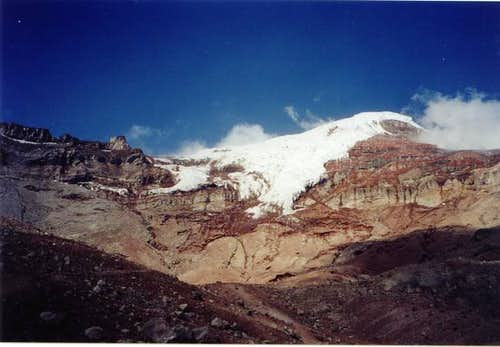 October 2003. Chimborazo in...