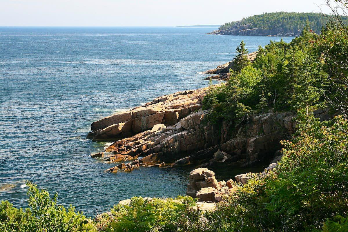 Acadia National Park Climbing Hiking Mountaineering SummitPost - Acadia national park on the map of the us
