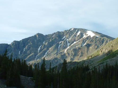 8/7/04: View of La Plata Peak...