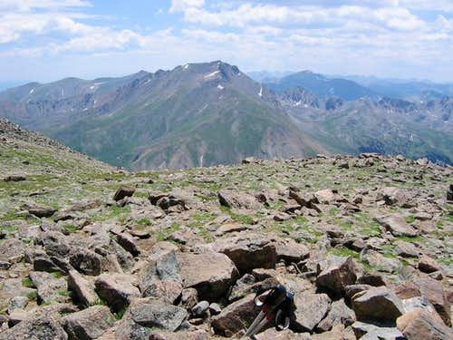 Mt. Harvard as seen from the...